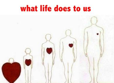 What Life Does To Us