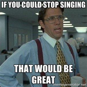 Singing Meme